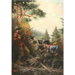 384: Osborne Mayer, Oil on Canvas