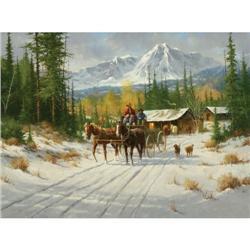 387: Gary Lynn Roberts, Oil on Canvas