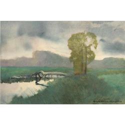 390: Roy Mason, Watercolor