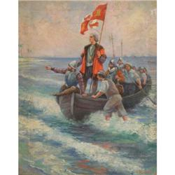 393: F.R. Harper, Oil on Canvas