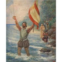 394: F.R. Harper, Oil on Canvas