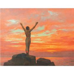 395: Fletcher Ransom, Oil on Canvas
