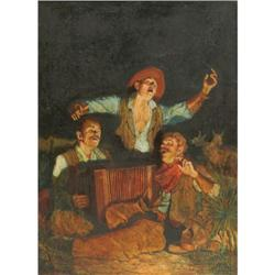 396: John Griffin, Oil on Canvas