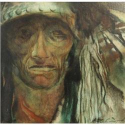 402: Paul Dyck, Oil on Board