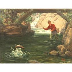 408: Ralph Crosby Smith, Oil on Canvas