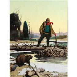 411: J. Clinton Shepherd, Oil on Canvas