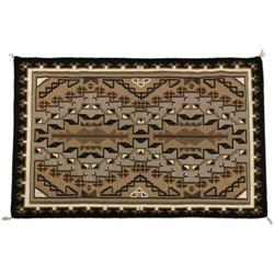418: Navajo Weaving, Toadlena/Two Grey Hills