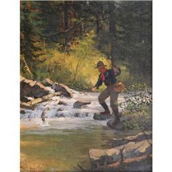 423: Brett James Smith, Oil on Canvas