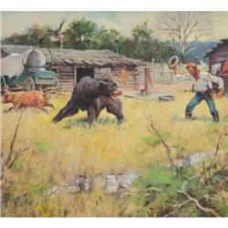 426: Matt Clark, Oil on Canvas