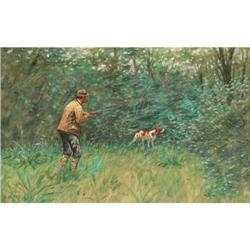 427: Olaf C. Seltzer, Watercolor