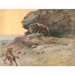 429: Olaf C. Seltzer, Watercolor