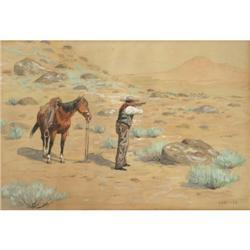 430: Olaf C. Seltzer, Watercolor