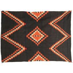 433: Late Classic Navajo Moki Serape, c. 1865