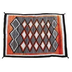 434: Navajo Weaving, Eye Dazzler, 1930s