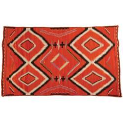 436: Navajo Transitional Weaving, c. 1900