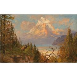 440d: John Fery, Oil on Canvas