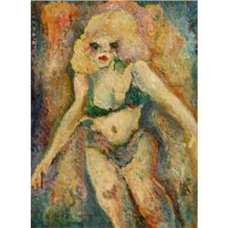 440f: Alfred Morang, Oil on <asonite