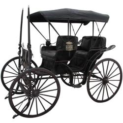 453: All Original Two Seat Touring Buggy, 1890s