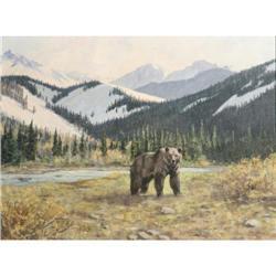 470: Leslie H. Peters, Oil on Canvas