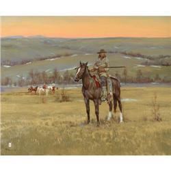 485: Ace Powell, Oil on Canvas