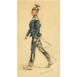 486: Frederic Remington, Mixed Medium