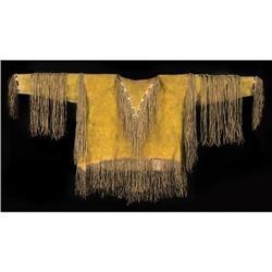 489: Kiowa Beaded War Shirt, c. 1870s.