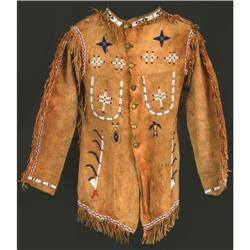490: Northern Plains Beaded Scout Coat