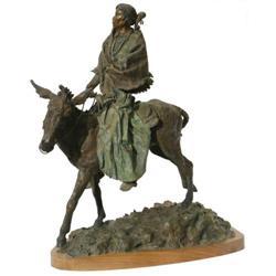 491: Daro Flood, Bronze Sculpture