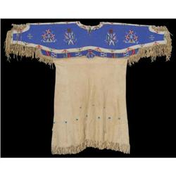 493: Sioux Beaded Dress, c. 1900s