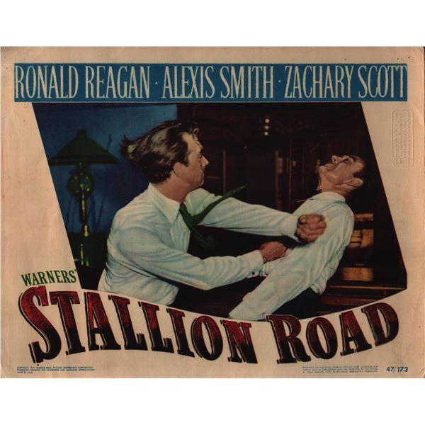 Stallion Road original 1947 vintage lobby card