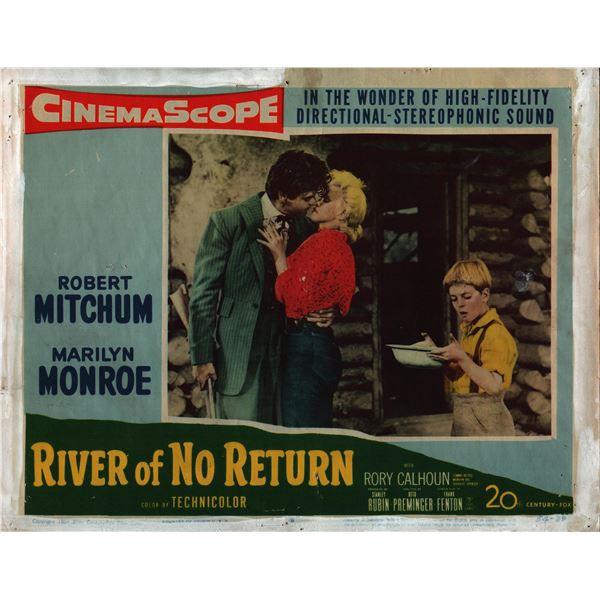River of No Return original 1954 vintage lobby card
