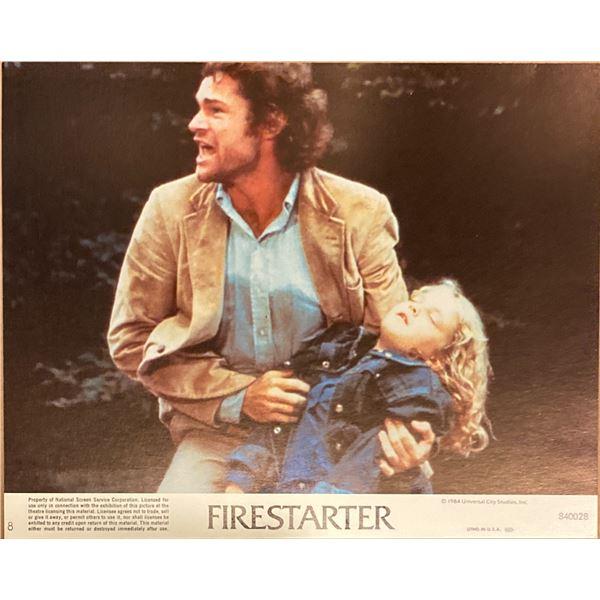 Firestarter original 1984 vintage lobby card