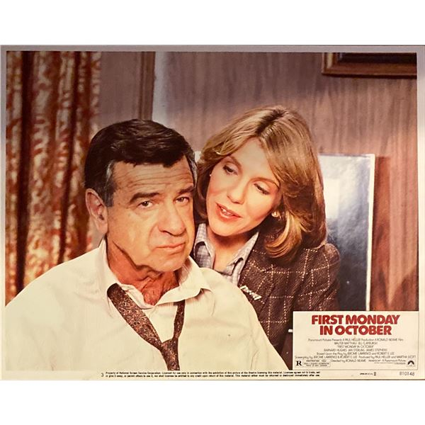 First Monday in October original 1981 vintage lobby card