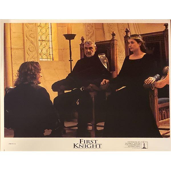 First Knight original 1995 vintage lobby card