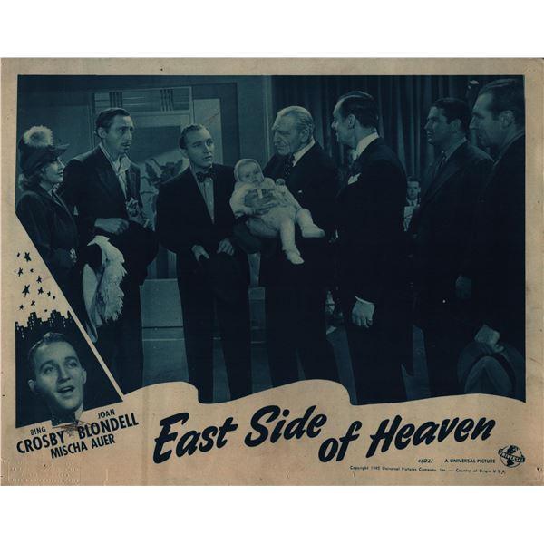 East Side of Heaven original 1945 vintage lobby card
