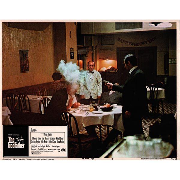 The Godfather original 1972 vintage lobby card