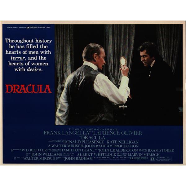 Dracula original 1979 vintage lobby card