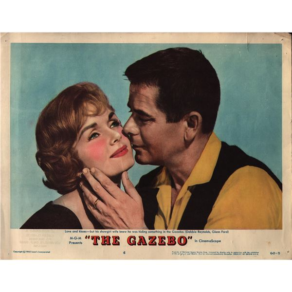 The Gazebo original 1960 vintage lobby card