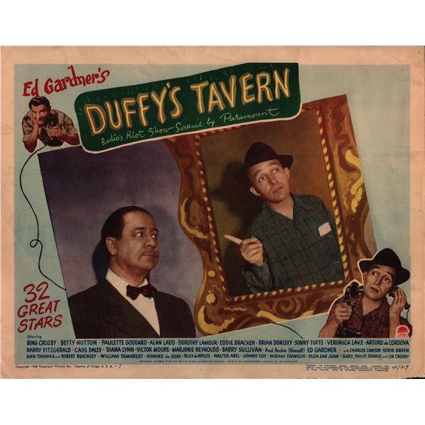 Duffy's Tavern original 1945 vintage lobby card