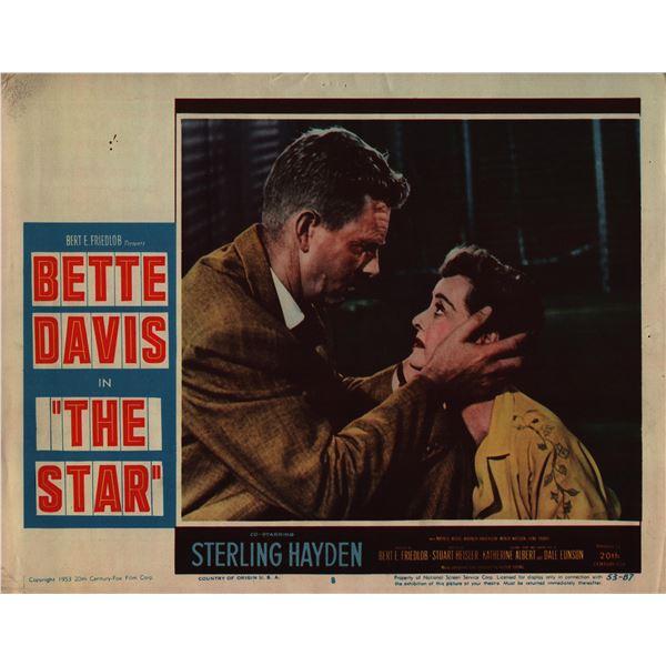 The Star original 1953 vintage lobby card