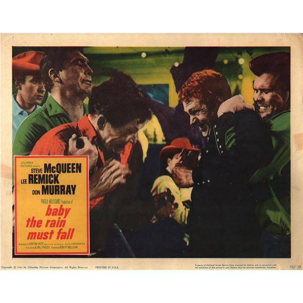Baby the Rain Must Fall original 1964 vintage lobby card
