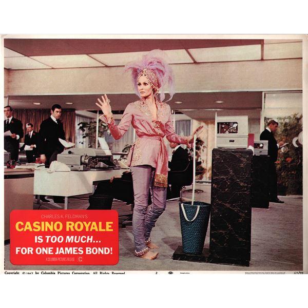 Casino Royale original 1967 vintage lobby card