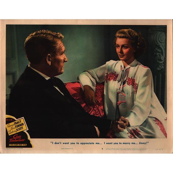 Cass Timberlane original 1947 vintage lobby card