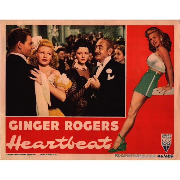 Heartbeat original 1946 vintage lobby card