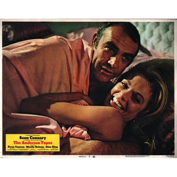 The Anderson Tapes original 1971 vintage lobby card