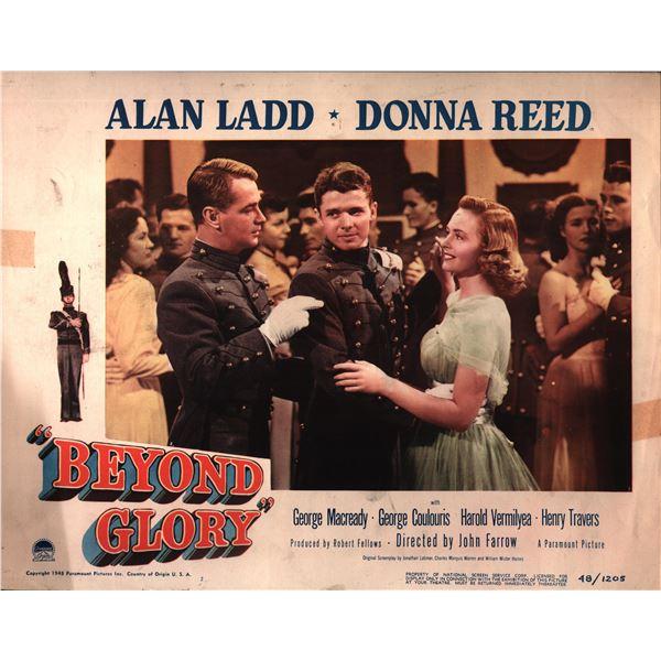 Beyond Glory original 1948 vintage lobby card