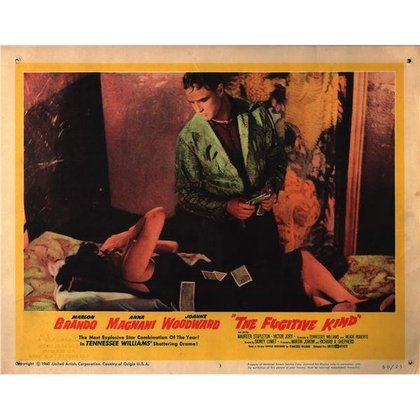 The Fugitive Kind original 1960 vintage lobby card
