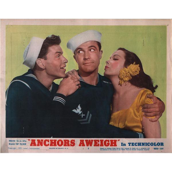 Anchors Aweigh original 1955 vintage lobby card