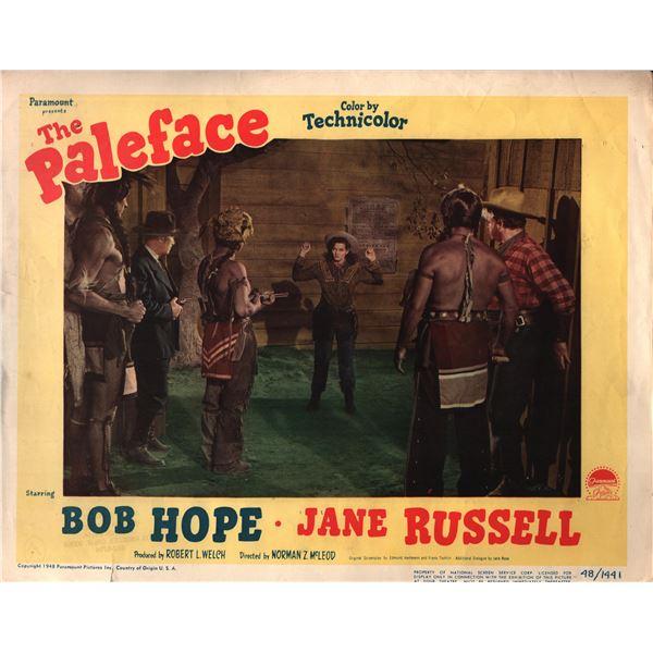The Paleface original 1948 vintage lobby card