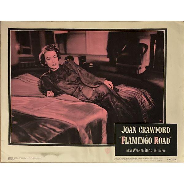 Flamingo Road original 1949 vintage lobby card